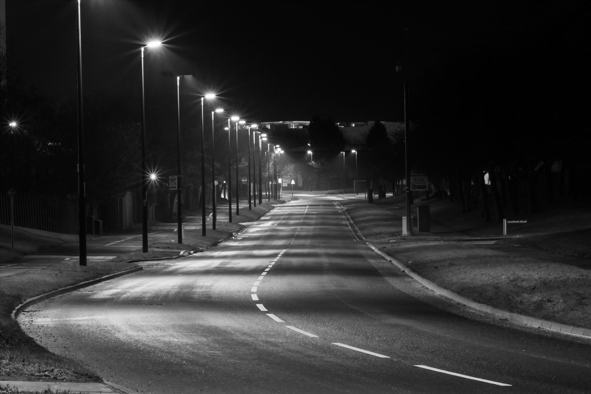 Purchase Empty Roads By Aj Stoves Photography