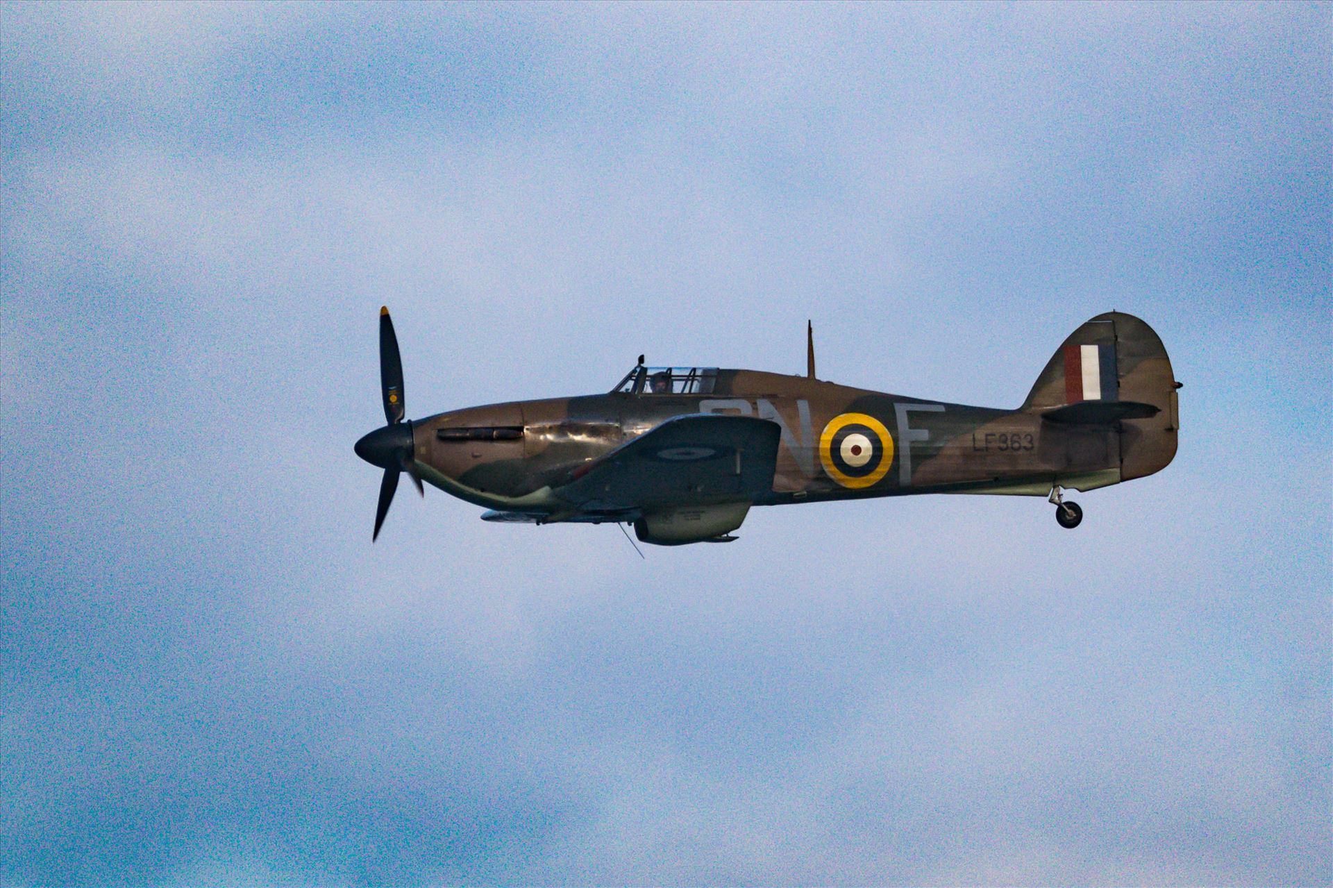 RAF Spitfire Fly By - Taken in 2017 at Sunderland International Airshow by AJ Stoves Photography