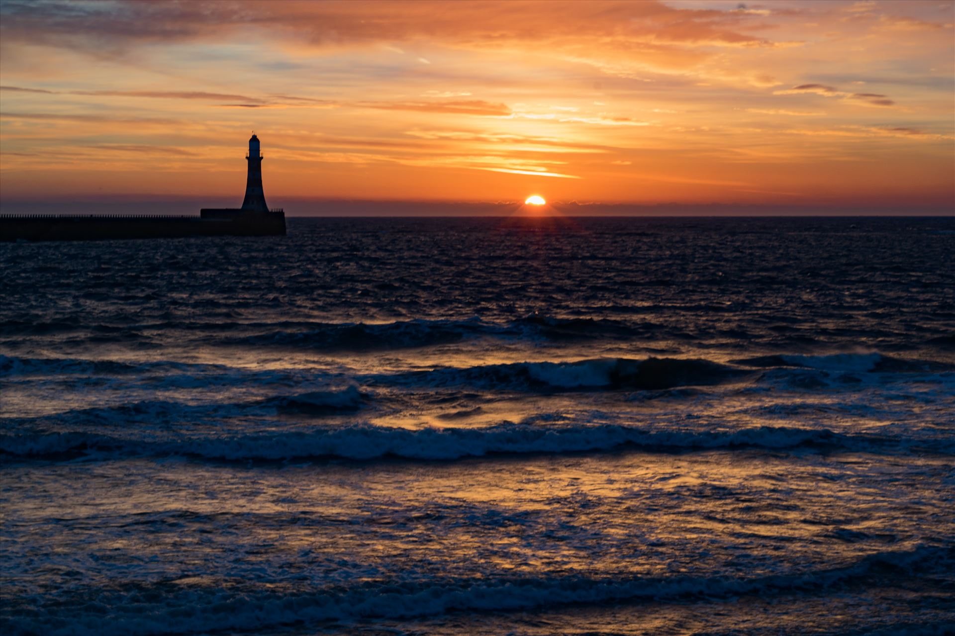 Roker Sunrise - Roker at sunrise by AJ Stoves Photography