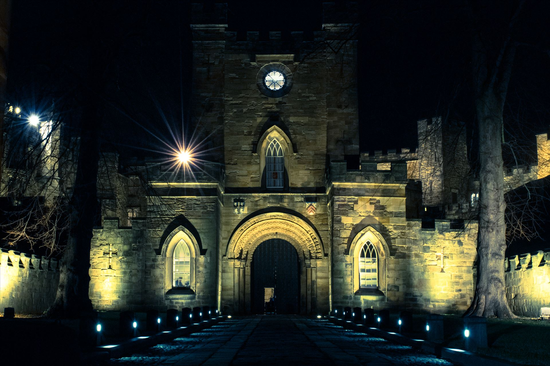 Durham City at Night - Taken on a cold night shoot in Durham City by AJ Stoves Photography