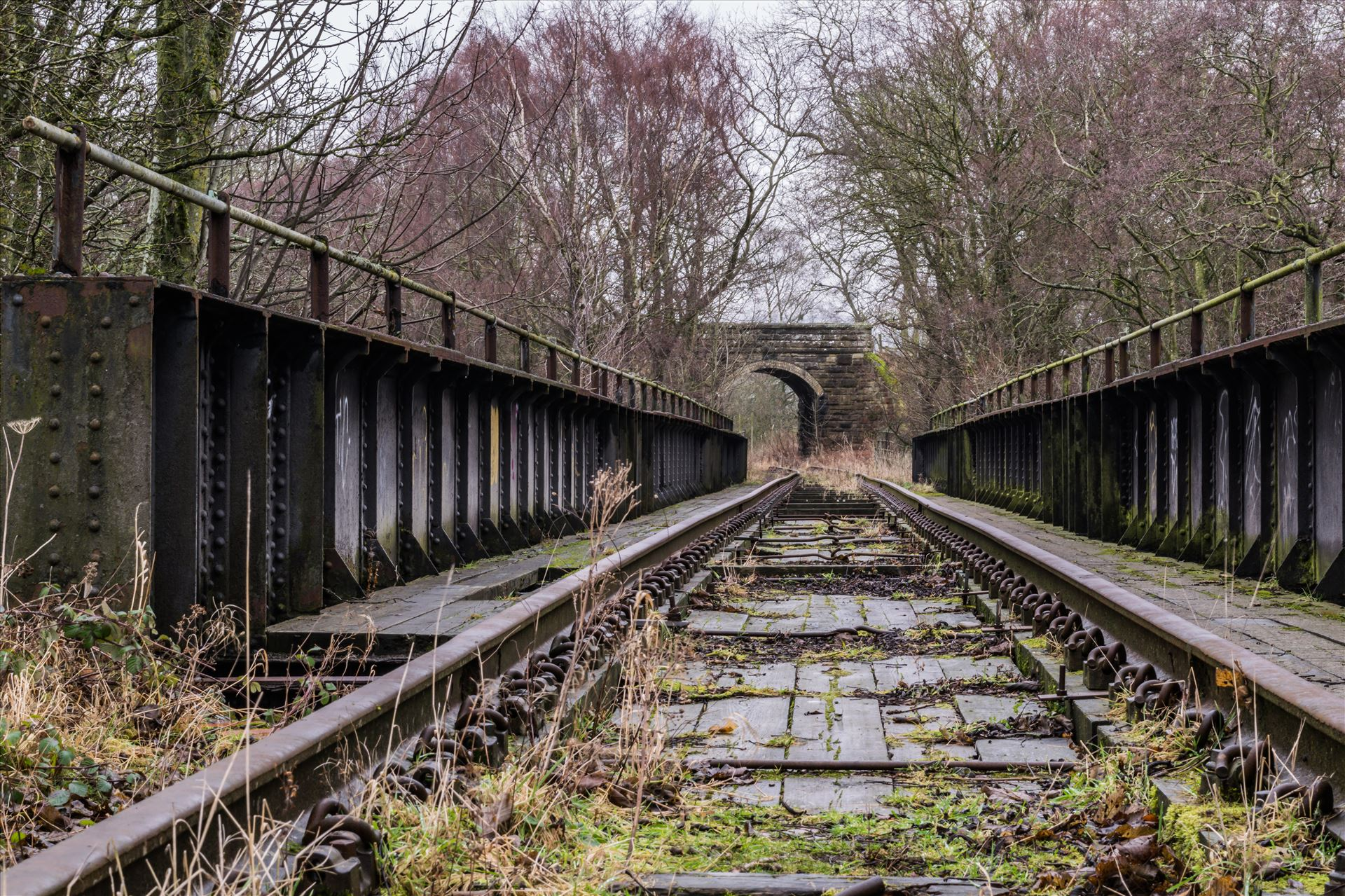 Abandoned Railway Bridge - Taken on 11/01/18 near Stanhope by AJ Stoves Photography