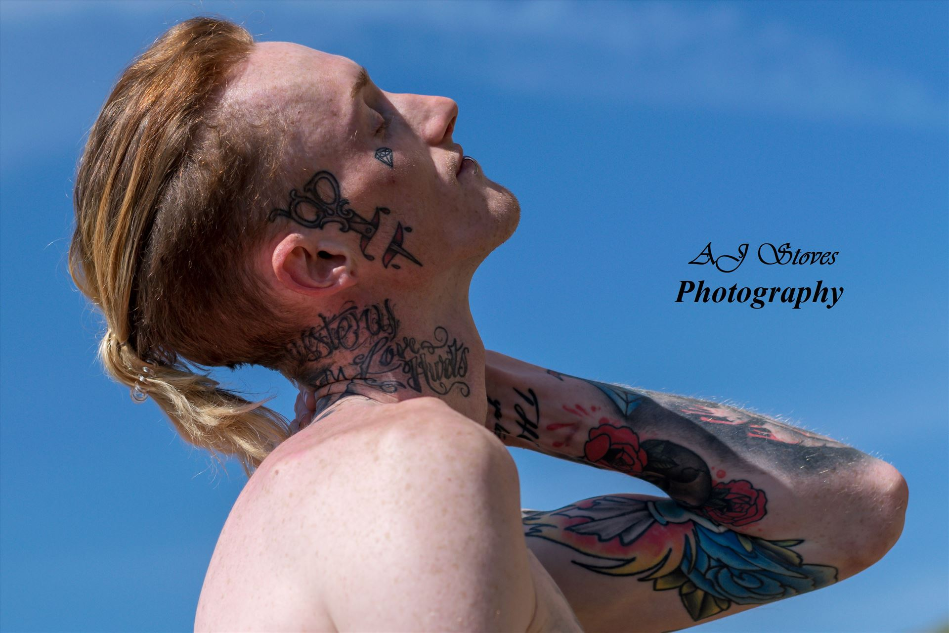 Luke Proctor 11 - Great shoot with Luke down Seaham Beach by AJ Stoves Photography