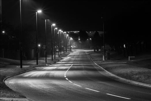 This was the sight that you never really see, and empty road in Middlesbrough