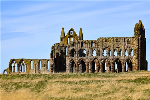 Whitby Abbey on a summers day