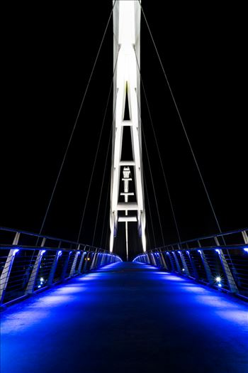 Preview of Infinity Bridge at night Stockton on Tees