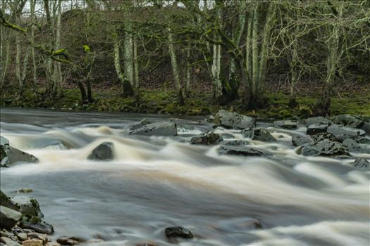 A river in full flow, taken with a ND filter and a 15 scoond exposure