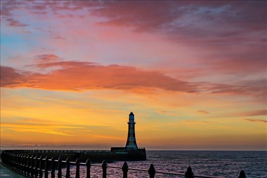 Roker at sunrise