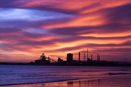 Preview of SSI Redcar Steel Works Sunrise, just the hint of blue