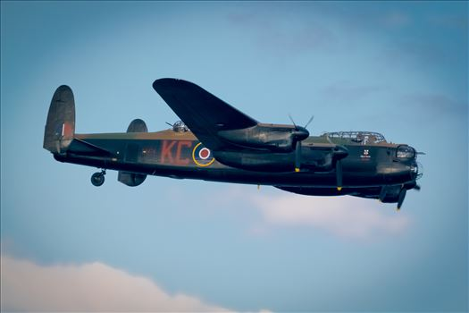 Fly past of one of the most Iconic Planes in history and World War II, the Lancaster Bomber